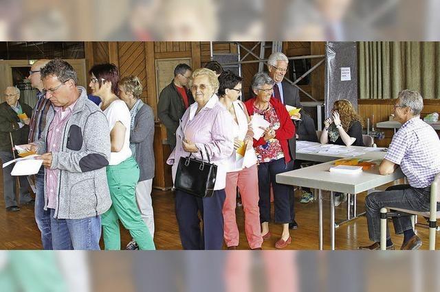 Eine hohe Wahlbeteiligung?