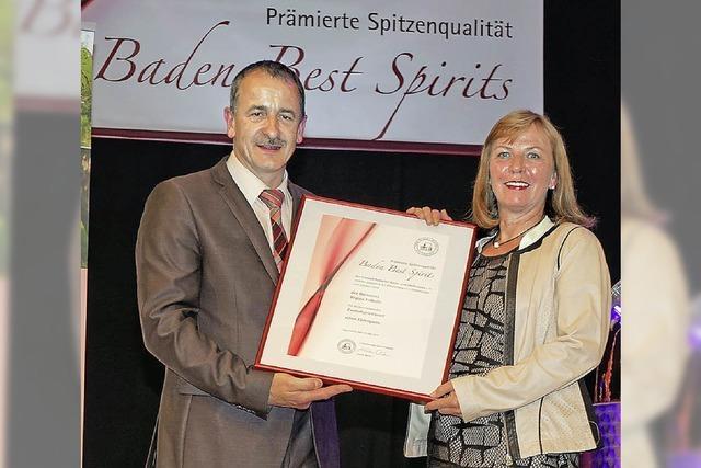 Ehrenpreis für Pflaumenbrand aus Bonndorf