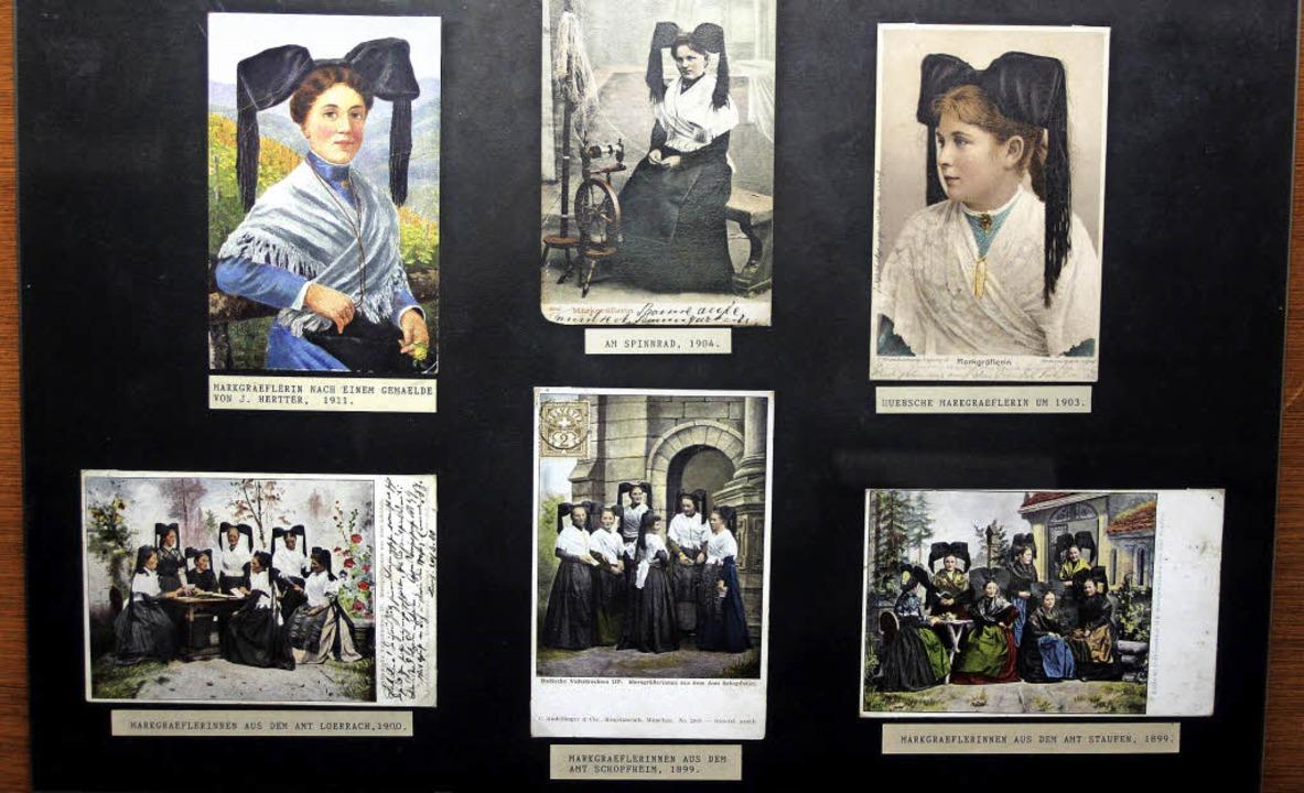 Ein wahrer Schatz ist die Postkartensa...ve, aber unter anderem auch Trachten.     Foto: heiner Fabry
