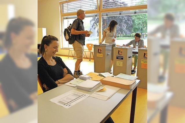 Wahlbeteiligung höher als 2009