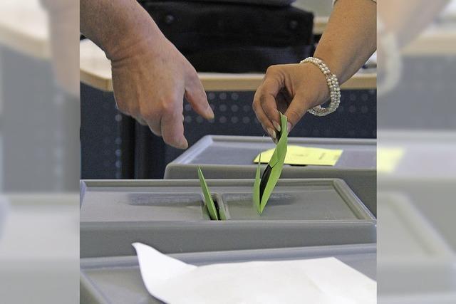 Viel zu tun für Wähler und Wahlhelfer