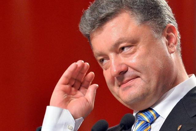 Nach Wahl: Dialogsignale aus Moskau und Kiew