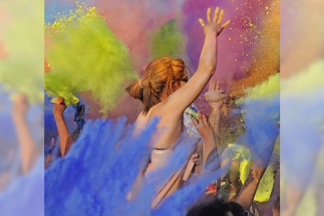 Gewinnspiel: Holi Color Open Air 2014 in Freiburg