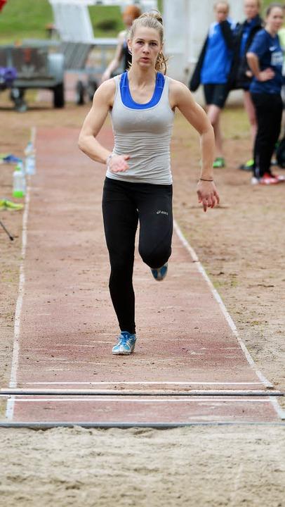 Auf dem Sprung zur DM: Verena Hoelle (SV Malterdingen)   | Foto: Mu