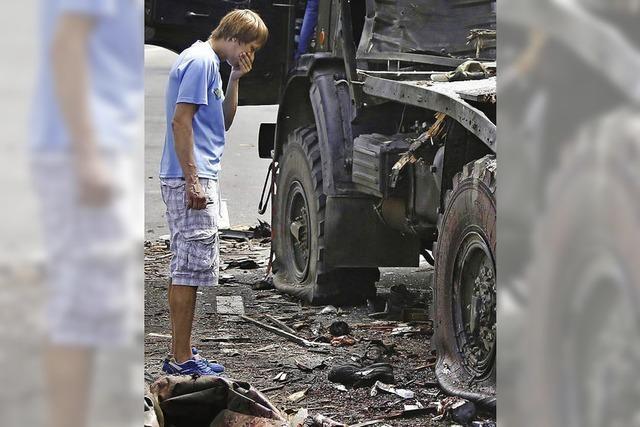 Luftschläge statt Dialog in der Ostukraine