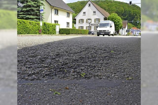 Ortsdurchfahrt Degerfelden acht Tage gesperrt