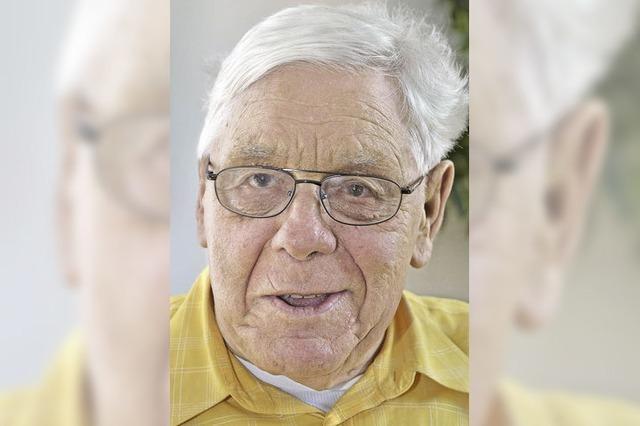 Theobald Wagner ist 80