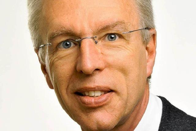 Rainer Heimburger wird neuer Dekan