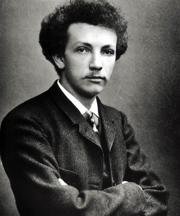 Bajuwarischer Siegertyp und Überflieger: der junge Richard Strauss (1888)  | Foto: dpa