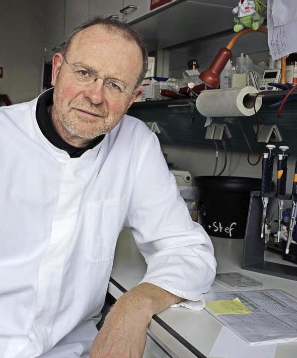 Versucht zu entschlüsseln, wie der Men...mmunzellen programmiert: Thomas Boehm   | Foto: mpi
