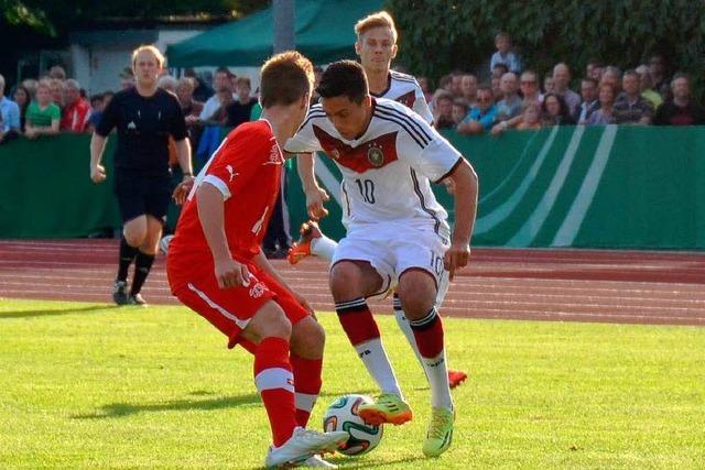 4250 Zuschauer sahen in Lörrach das U18-Länderspiel Deutschland – Schweiz