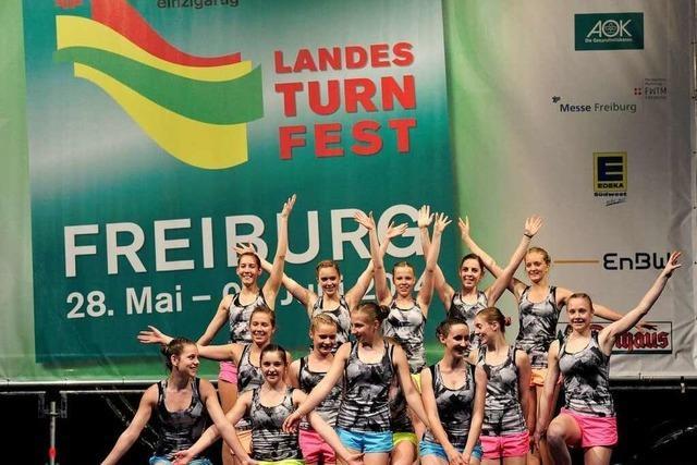 Fotos: Eröffnungsfeier des Landesturnfests in Freiburg