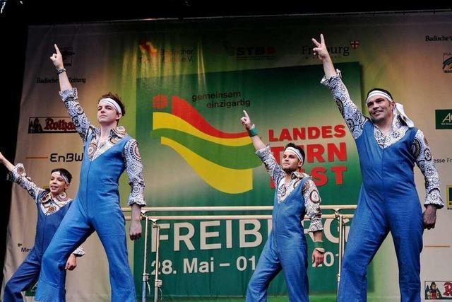 Das Landesturnfest bringt Freiburg in Bewegung