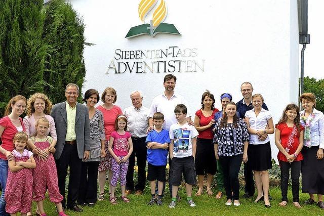 Adventgemeinde feiert