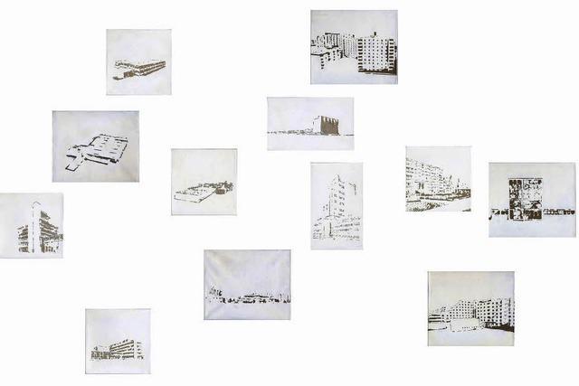 Bilder des Schweizer Künstlers Stephan Hauswirth in Waldkirch im Georg-Scholz-Haus