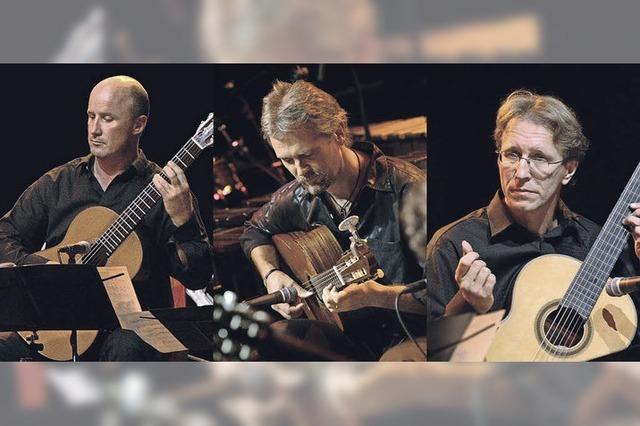 Gitarrentrio Cuadro Sur aus Offenburg in Kippenheim