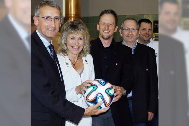 Unterstützung für junge Talente und Spitzensportler