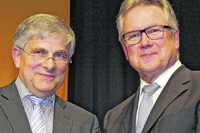 Bürgermeister Manfred Beck nimmt Abschied