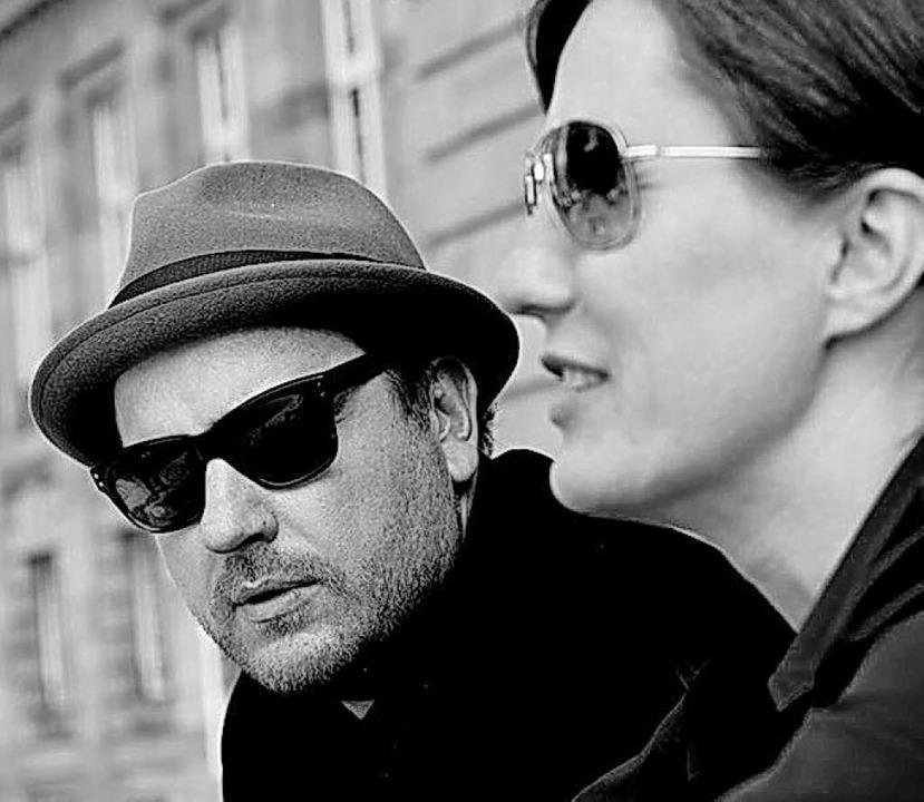 Stefan Strumbel (Bühnenbild) und Andre... an der Staatsoper Stuttgart zusammen.  | Foto: Oliver Rath