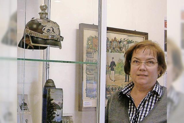 Stadtarchivarin Sabine Diezinger: