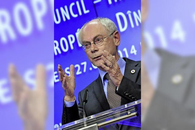 Van Rompuy soll vermitteln