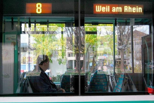 Die Tramstrecke nach Basel geht am 14. Dezember in Betrieb