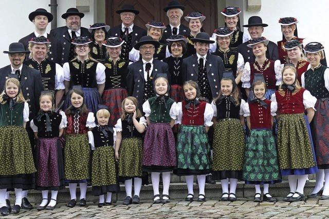 50 Jahre Trachtentanzgruppe Schluchsee