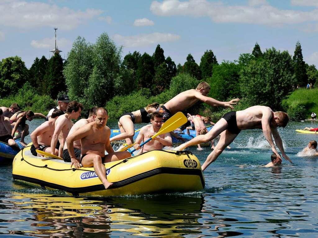 Wie war's bei… dem besonderen Wettbewerb im Seepark? - Freiburg