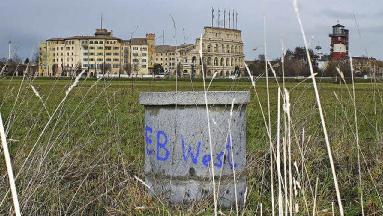 Der Erkundungsbrunnen West, etwa 500 M...rversorgung der Südgemeinden sichern.   | Foto: Adelbert Mutz