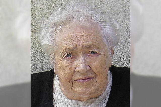 Amanda Boos wird heute 85 Jahre alt