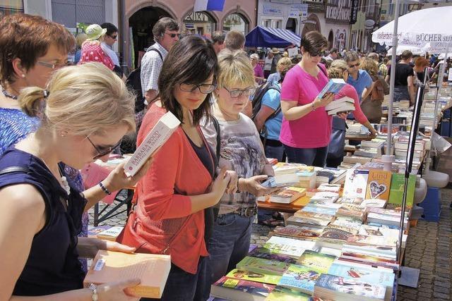 Ansturm auf den Büchermarkt