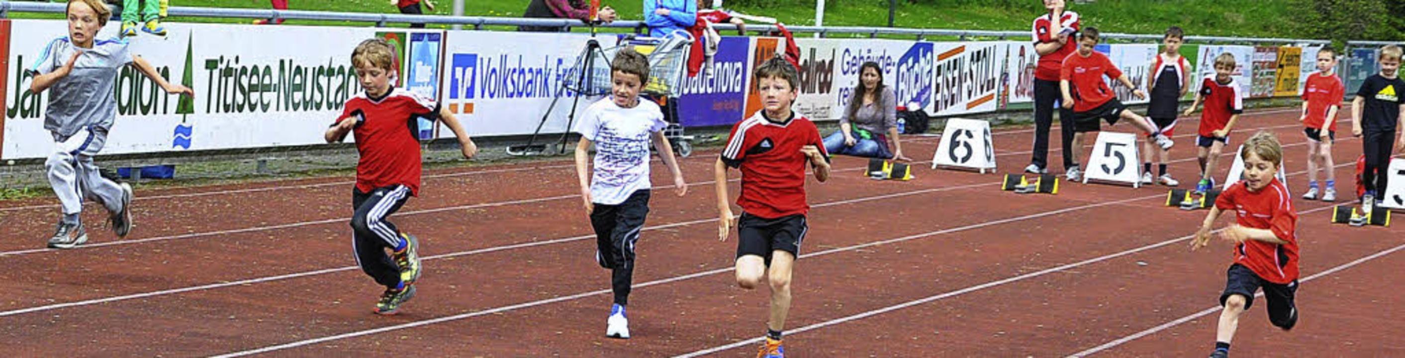 Max Kuttruff, Max Valentin und Michael...eigten in Neustadt eine gute Leistung.    Foto: bz