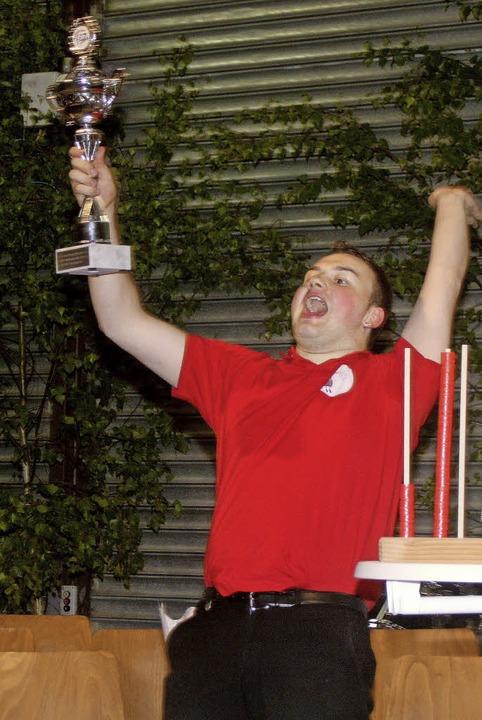 Der Pokal ging an Blasmusikfieber.  | Foto: Heiner Fabry