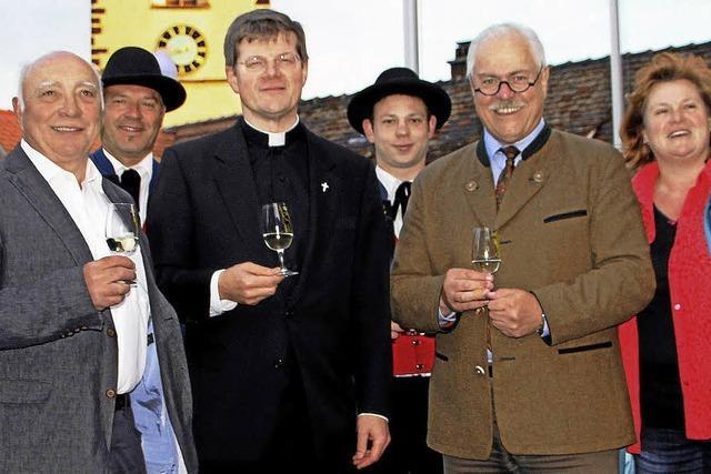 Ein Ständchen für den neuen Erzbischof