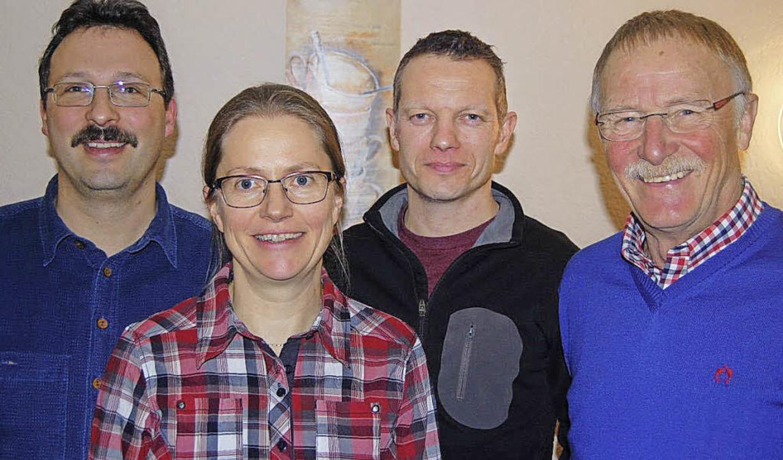 Der Förderverein des TuS Höllstein hat...er, Marian Wallner und  Gunter Halter   | Foto: ZVG