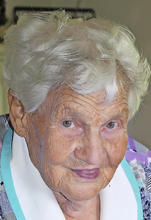 Agatha Wenzinger geborene Benz aus Una...2. Juni,  ihren 90. Geburtstag feiern.  | Foto: Christa Maier