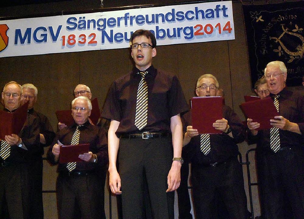 Sängerfreundschaft Neuenburg Jahreskonzert  | Foto: Bianca Flier