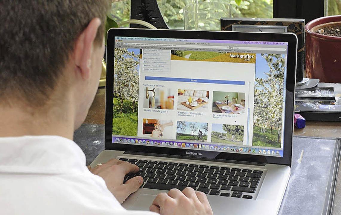 Die Online-Buchbarkeit für die Markgrä...einen Dienstleister optimiert werden.   | Foto: Münch