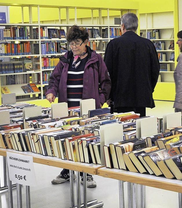 Die Stadtbibliothek macht mit bei der Entente Florale.   | Foto: zvg
