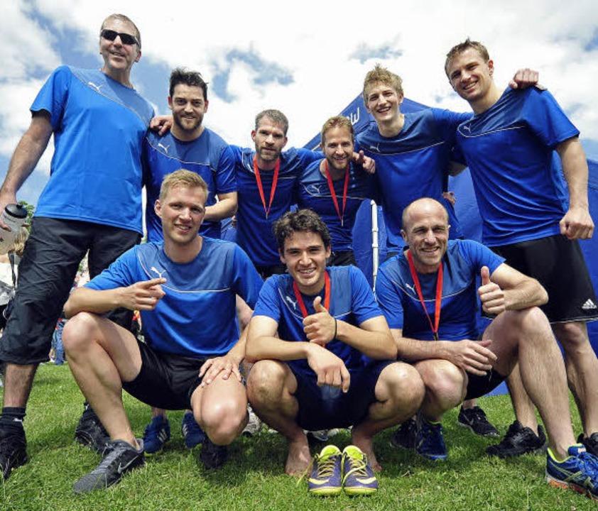 Gut geschlagen: Das Team der Badischen...ck (ganz links) hat das Team gecoacht.  | Foto: Thomas Kunz