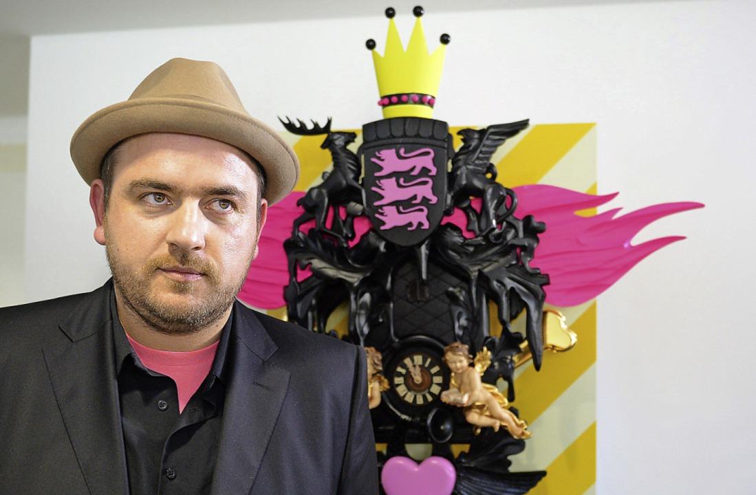 Stefan Strumbel, Schwarzwaldmaler    Foto: dpa