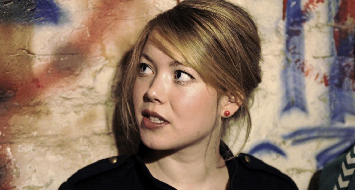 Magdalena Ganter, Sängerin    Foto: privat