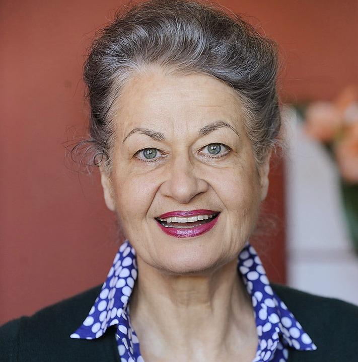Ursula Cantieni, Schauspielerin    Foto: privat