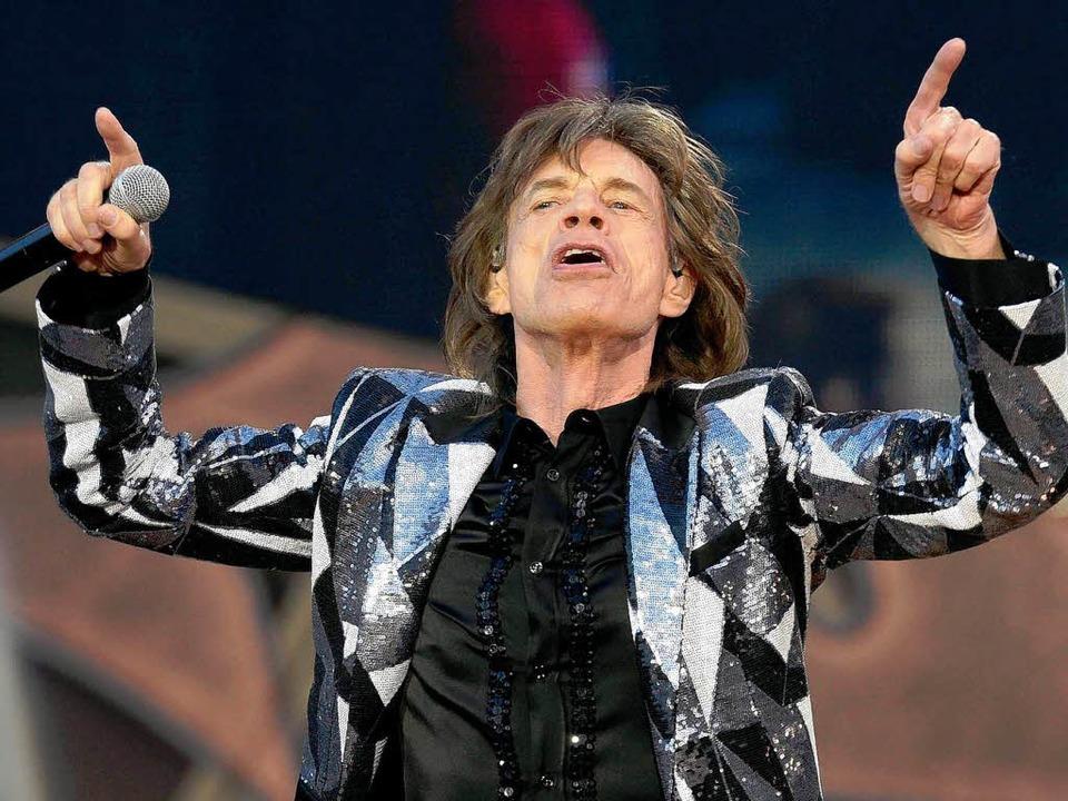 Mick Jagger war ein Höhepunkt.  | Foto: dpa
