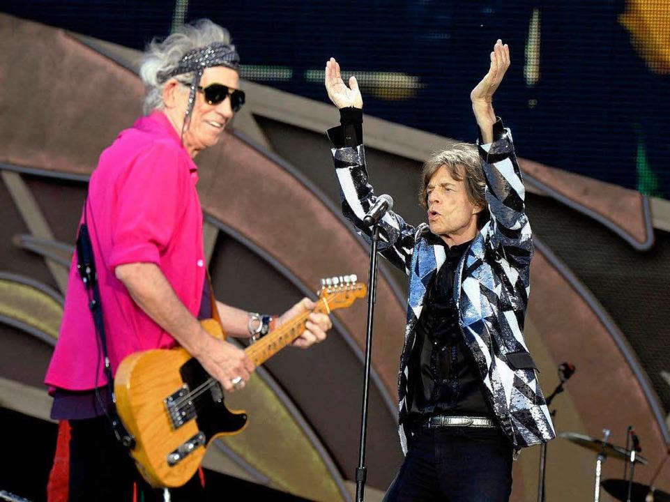 Keith Richards mit Narrenfreiheit  | Foto: dpa