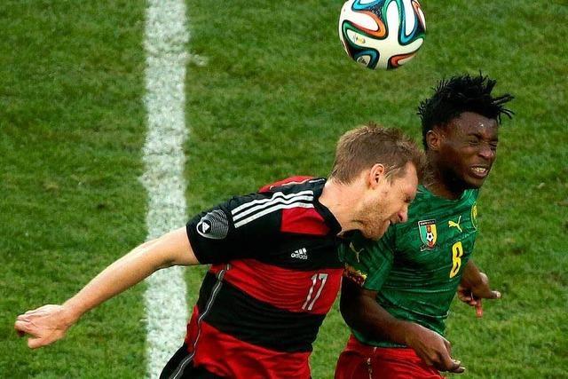 Deutschland spielt im Testspiel 2:2 gegen Kamerun