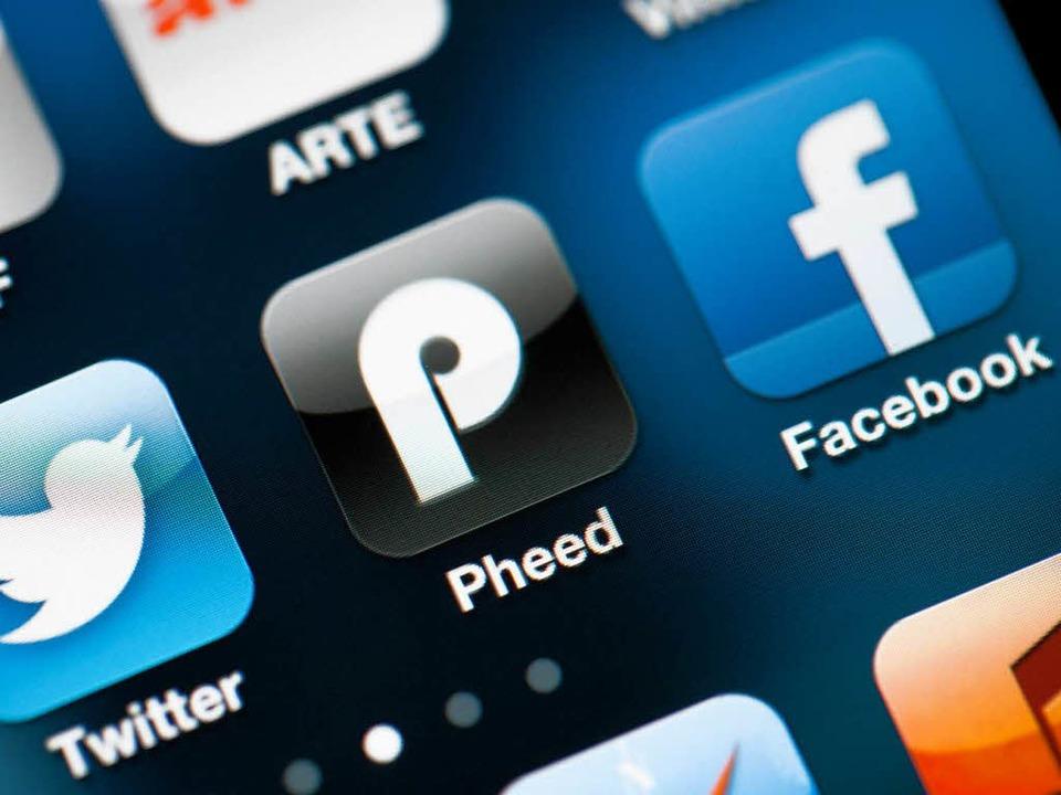 Bald im Blickfeld des BND? Soziale Netzwerke wie Facebook    Foto: dpa
