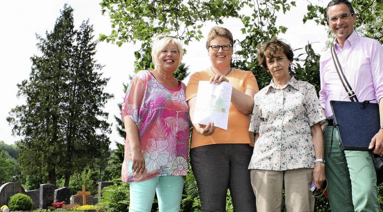 Diese Woche haben (von links) Astrid M... Konle-Ribbentrop und Bettina Hilker.   | Foto: Elia Jasch-Ramsteck