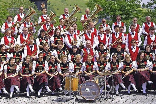 150 Jahre Musikverein Bernau mit Partynacht, Blasmusikabend und Festumzug