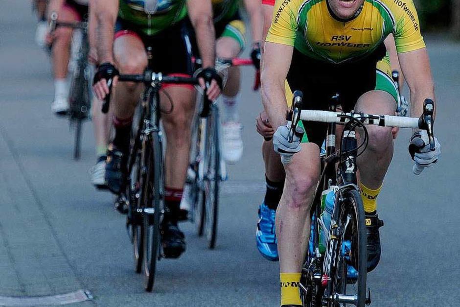 """Das Radrennen """"Rund um den Kirchberg"""" (Foto: Bettina Schaller/Pressebüro Schaller, Bettina Schaller Presse)"""